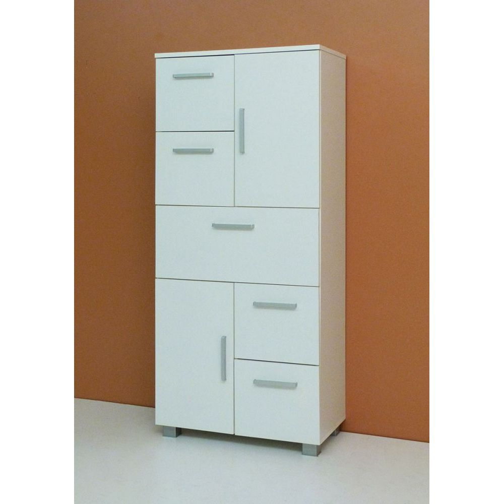 dielenschrank schuhschrank cube sonoma eiche s gerauh weiss neu ovp ebay. Black Bedroom Furniture Sets. Home Design Ideas