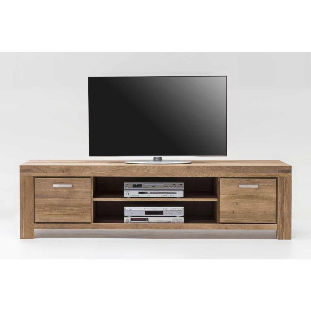 tv kommode lowboard lisa wildeiche massiv ge lt b 195cm. Black Bedroom Furniture Sets. Home Design Ideas