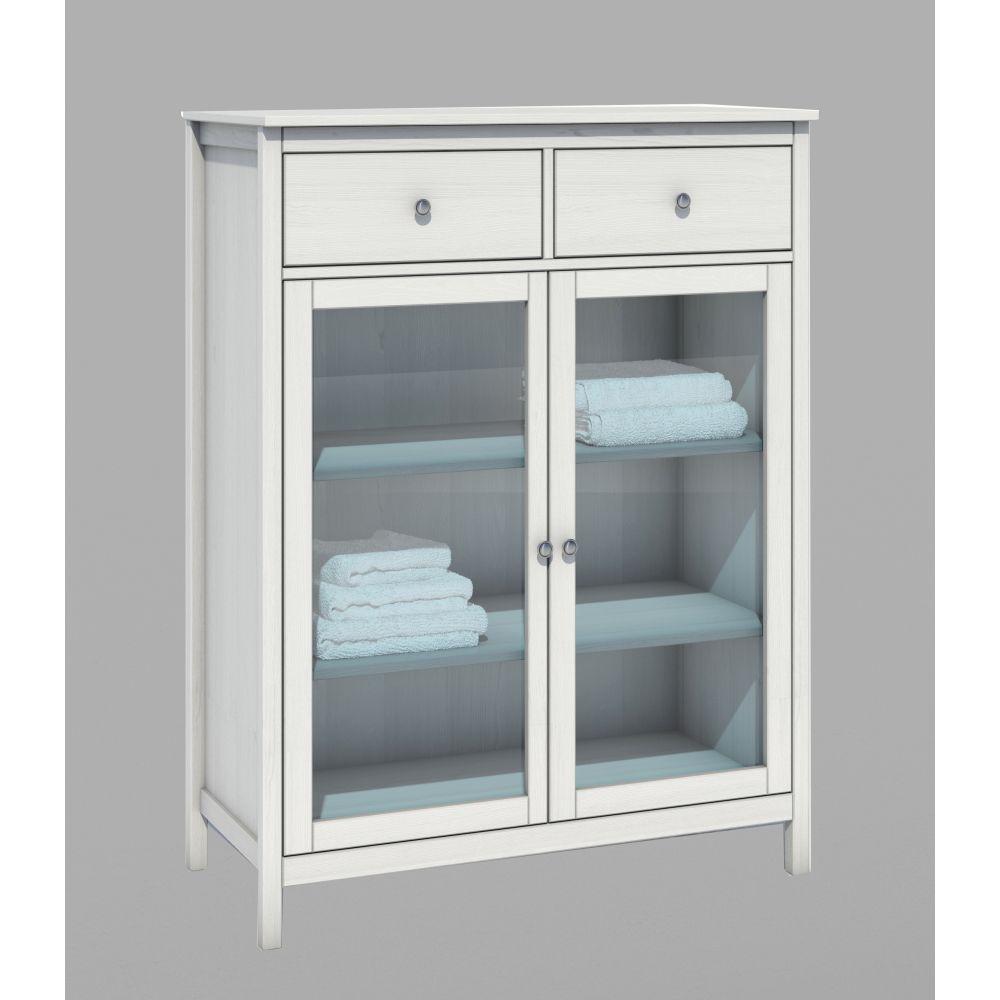 futonbett futonliege malte 140x200 inkl schubladen kiefer lackiert neu. Black Bedroom Furniture Sets. Home Design Ideas