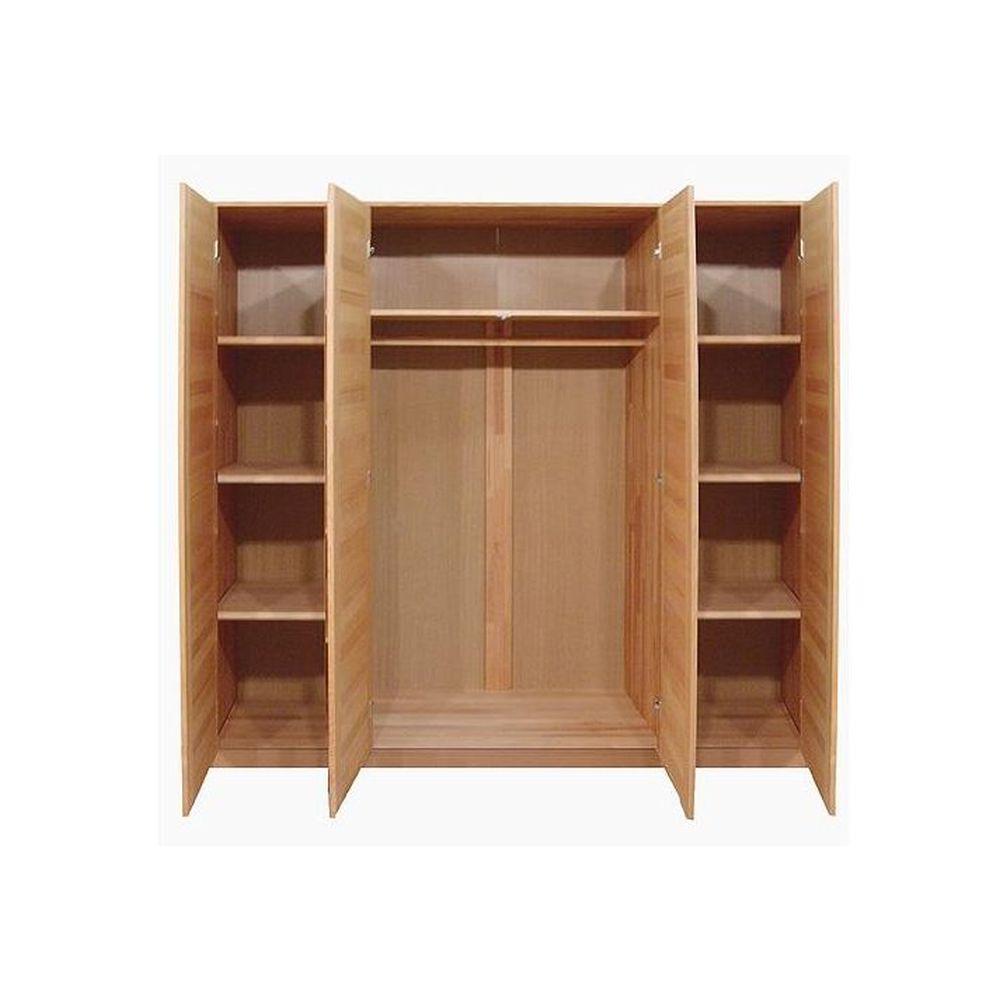 kleiderschrank toni wildeiche teilmassiv versch gr en. Black Bedroom Furniture Sets. Home Design Ideas